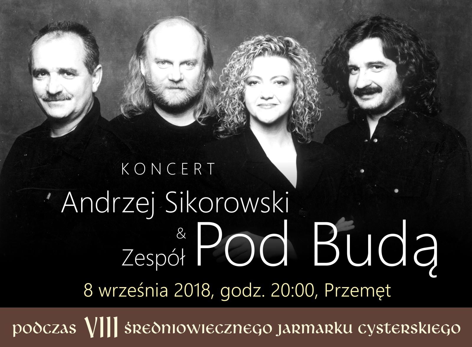 Andrzej Sikorowski i Zespół Pod Budą na przemęckim jarmarku